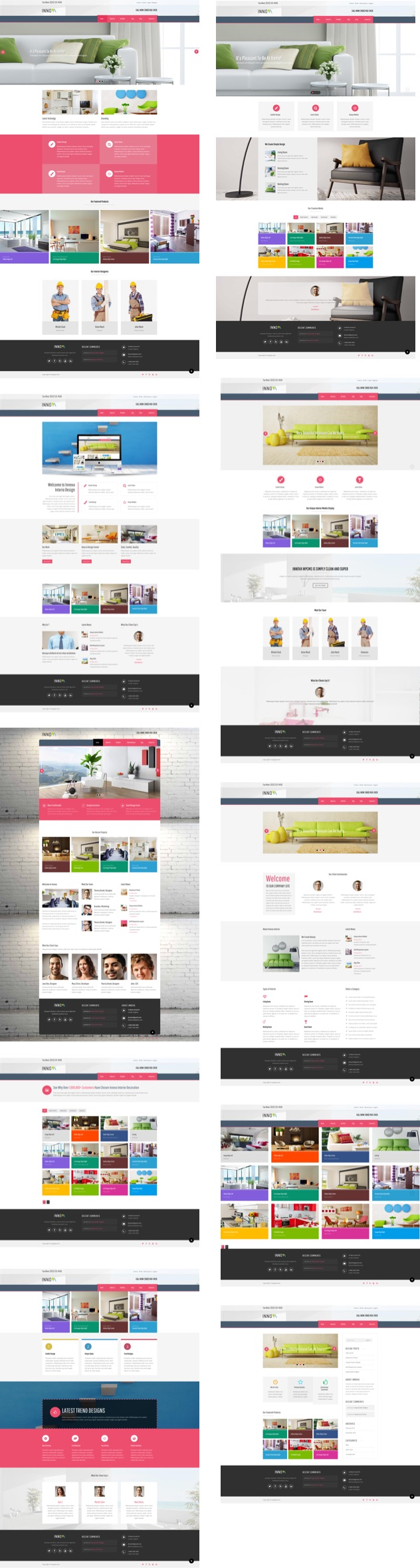 innova - Innova - Furniture WordPress CMS Theme