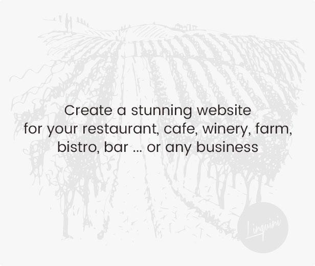 linguini restaurant theme highlight - Linguini — Restaurant WordPress Theme