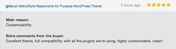 metro review - MetroStyle Responsive All Purpose WordPress Theme