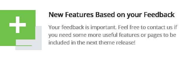 new features - Converio - Responsive Multi-Purpose WordPress Theme