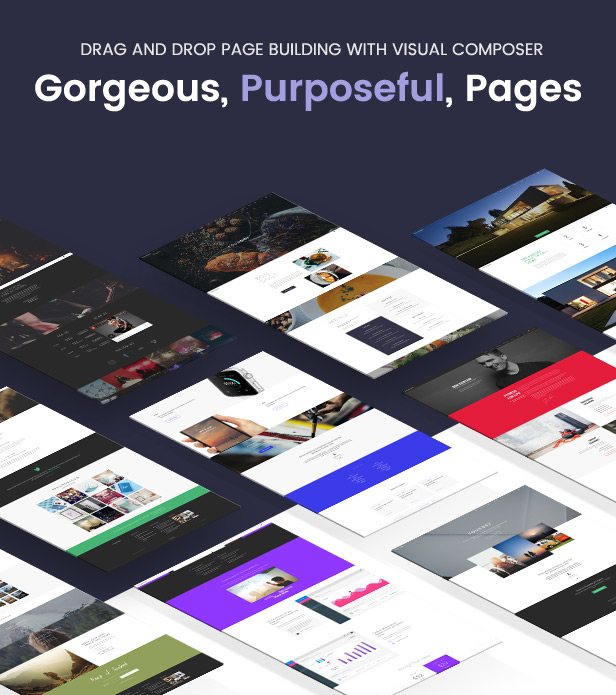 new pages - Foundry - Multipurpose, Multi-Concept WP Theme