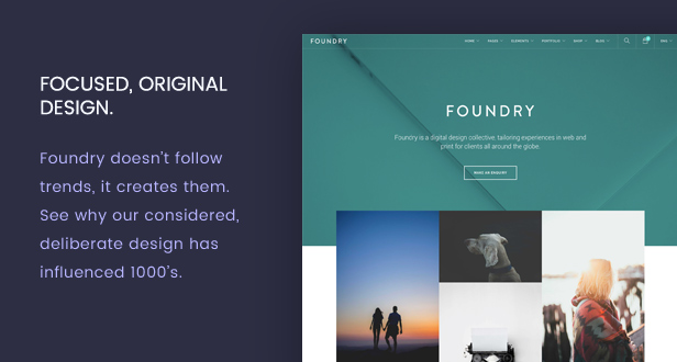 new pixel perfect - Foundry - Multipurpose, Multi-Concept WP Theme