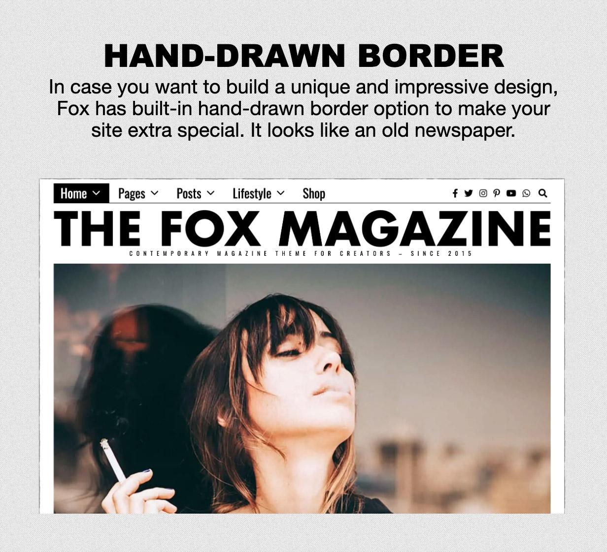 old - The Fox - Minimal WordPress Blog Magazine Theme