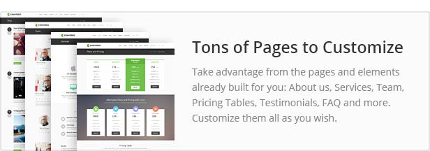 pages - Converio - Responsive Multi-Purpose WordPress Theme
