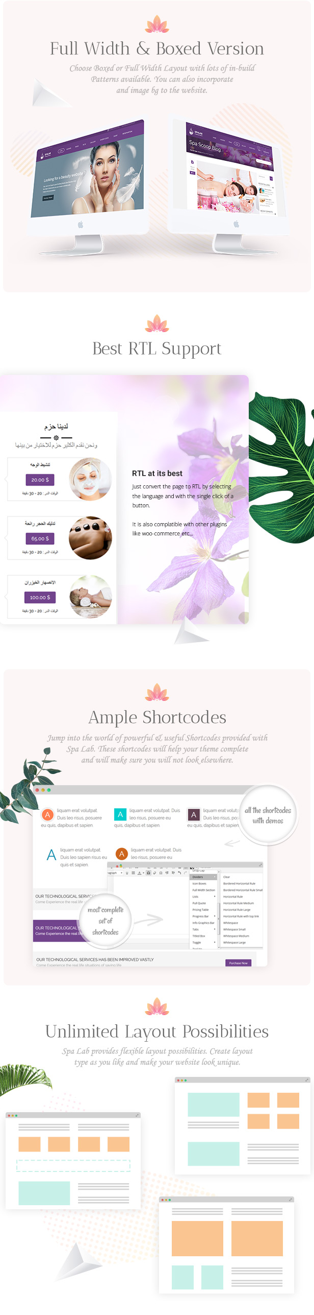part 06 - Spa Lab   Beauty Salon, Wellness WordPress Theme