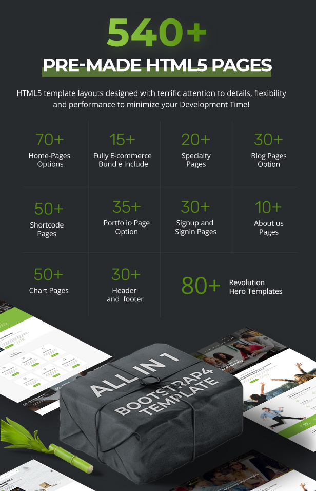 premade htmlpage3 9 - Webster - Responsive Multi-purpose HTML5 Template
