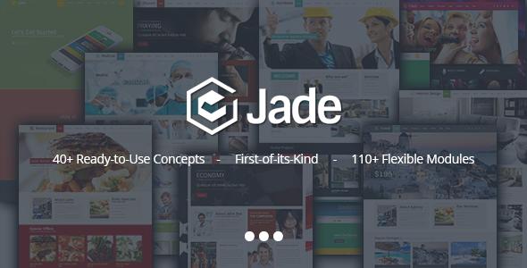 preview.  large preview - Jade - Flexible Multi Purpose Responsive Theme