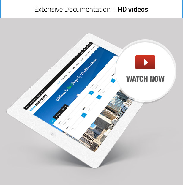 realproperty promotion video - Real Property - RealEstate Theme
