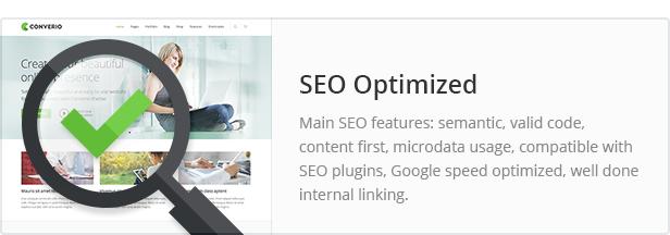 seo - Converio - Responsive Multi-Purpose WordPress Theme
