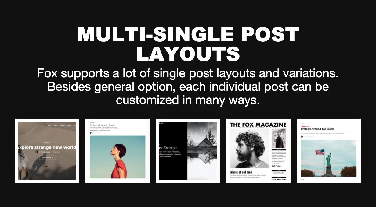 single - The Fox - Minimal WordPress Blog Magazine Theme