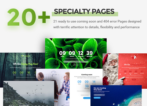 specialtypages - Webster - Responsive Multi-purpose HTML5 Template