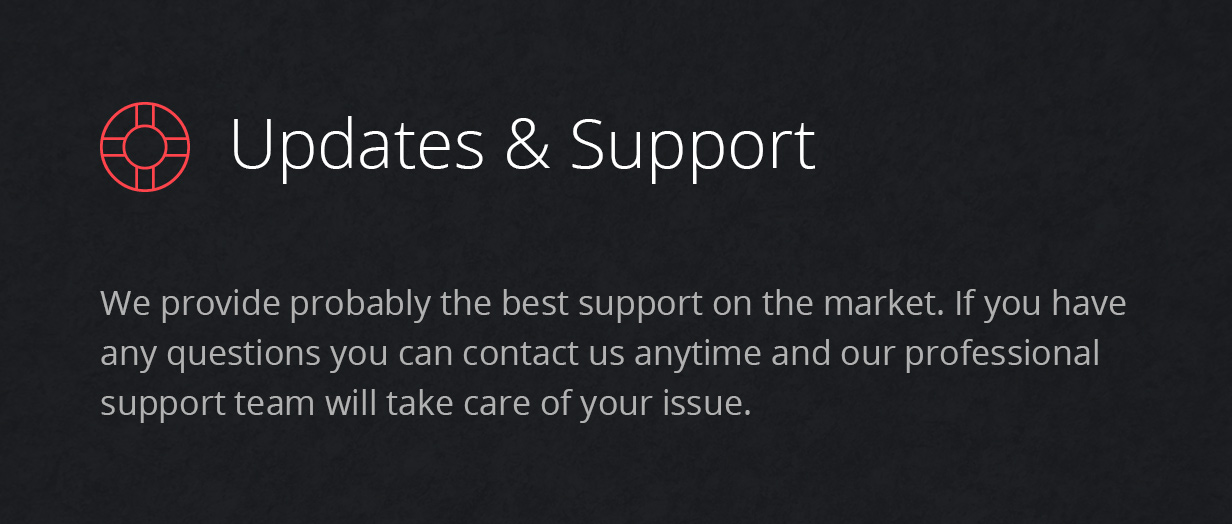 support - Fevr - Creative MultiPurpose Theme
