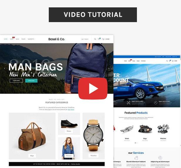 tutorial - Basel - Multipurpose Ecommerce Shopify Theme
