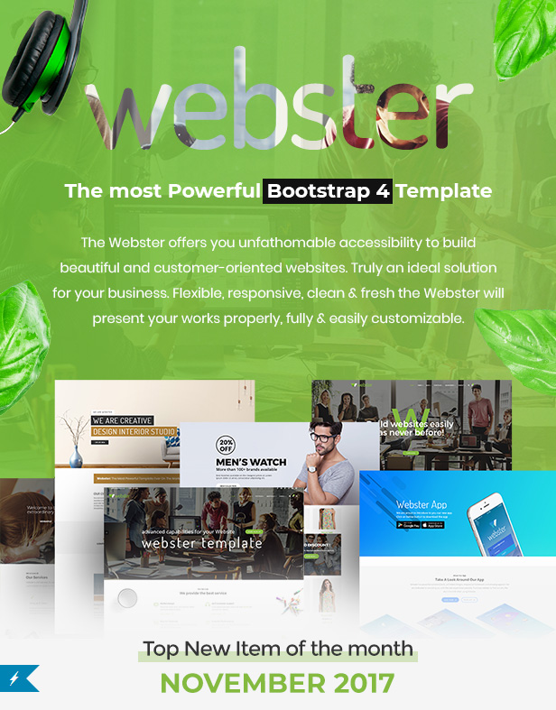 welcome - Webster - Responsive Multi-purpose HTML5 Template