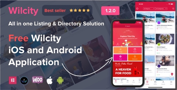 wilcity preview.  large preview - Wilcity - Directory Listing WordPress Theme