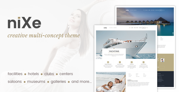 0.  large preview - Nixe | Hotel, Travel and Holiday WordPress Theme