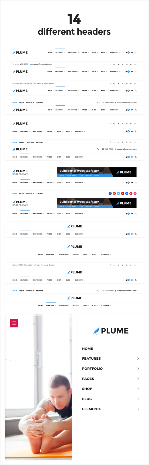 006 - PLUME HTML5 Multi-Purpose Template