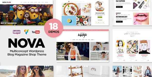 01 590 300 presentation novablog.  large preview - Nova - Multi-Concept Blog / Magazine WordPress Theme