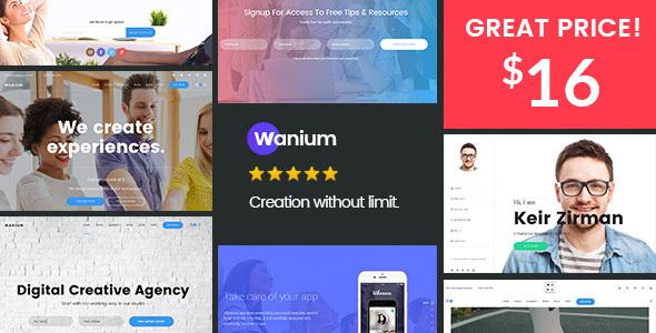 01 preview 16.  large preview - Wanium - A Elegant Multi-Concept Theme