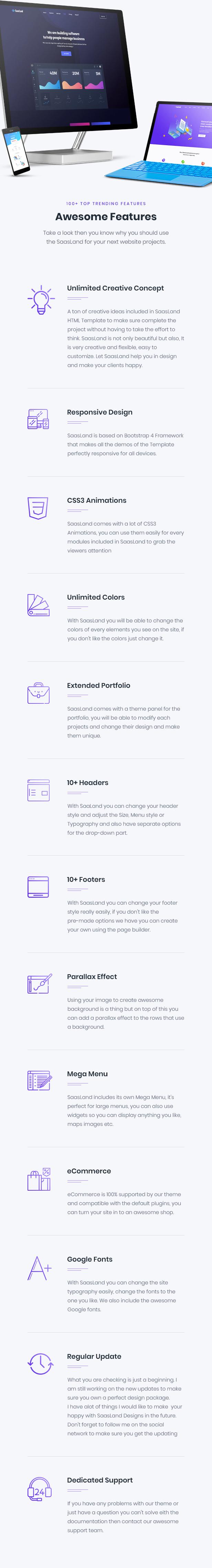 05 - SaasLand - Creative HTML5 Template for Saas, Startup & Agency