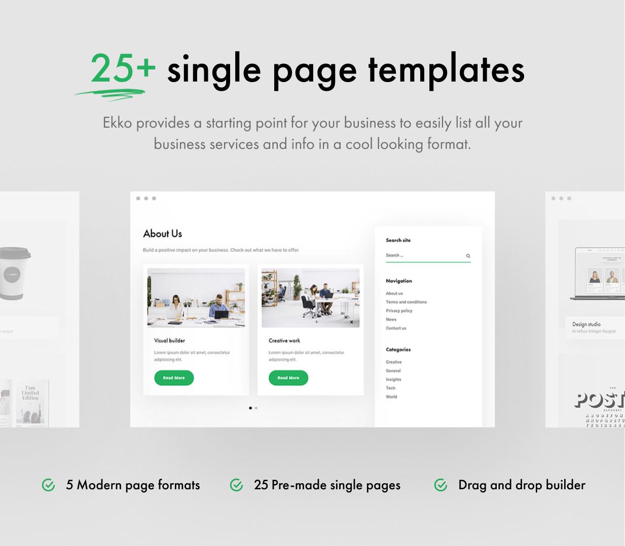 13 - Ekko - Multi-Purpose WordPress Theme with Page Builder