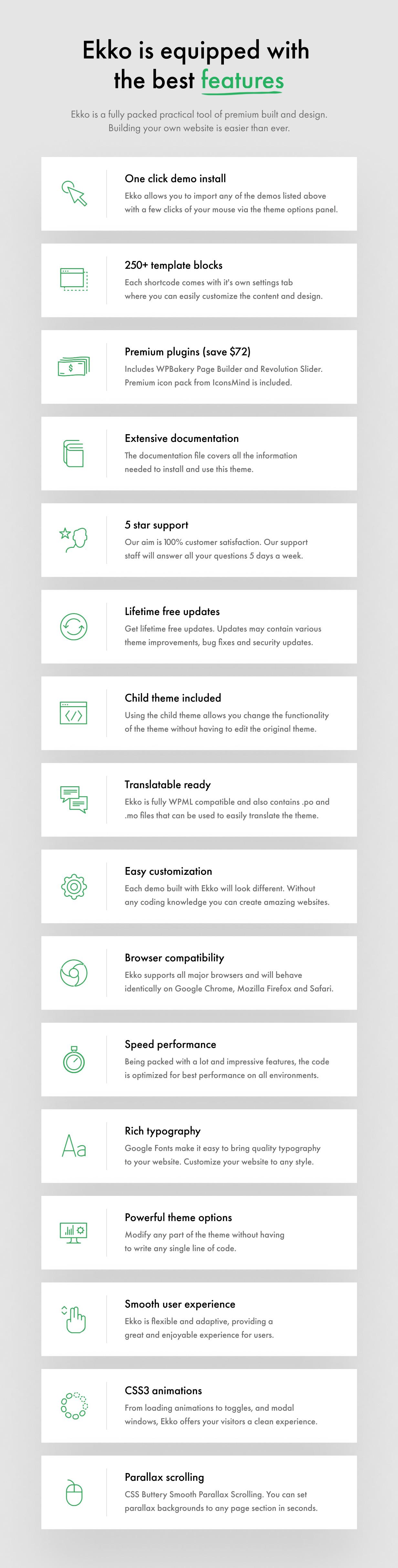 14 - Ekko - Multi-Purpose WordPress Theme with Page Builder