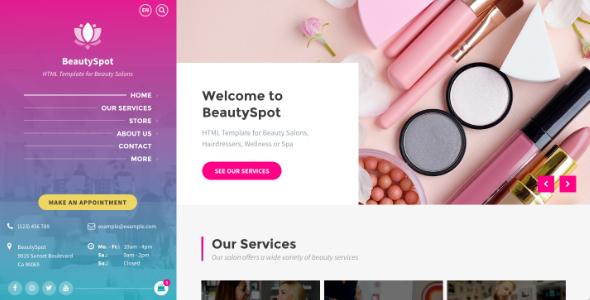 1618438048 147 01 preview.  large preview - BeautySpot - Beauty Salon HTML Template