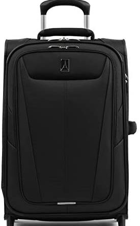 1618473124 31ZmWjMWLcL. AC  275x445 - Travelpro Maxlite 5-Softside Lightweight Expandable Upright Luggage, Black, Carry-On 22-Inch