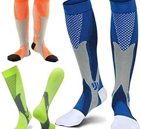 1618776048 51aDKWzw4qL. AC  484x445 - ZFiSt 3Pair Medical Sport Compression Socks Men,20-30mmhg Run Nurse Socks for Edema Diabetic Varicose Veins