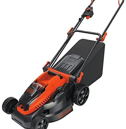 1618819360 51U8ZDlcFFL. AC  436x445 - BLACK+DECKER 40V MAX Cordless Lawn Mower, 16-Inch (CM1640)