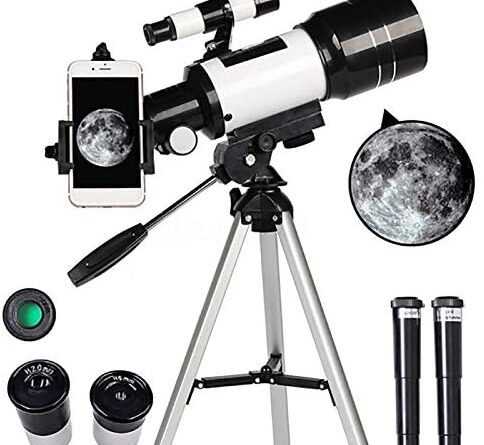 1619209111 51cfXYxqbcL. AC  484x445 - Telescope for Kids &Adults &Beginners,70mm Aperture 300mm AZ Mount, Fully Multi-Coated Optics, Portable Astronomy Refractor Telescope with an Adjustable Tripod, A Phone Adapter