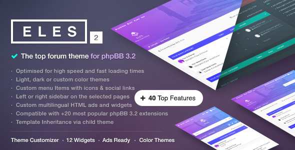 1619217276 855 preview.  large preview - Eles - Responsive phpBB 3.2 Theme