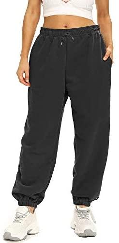 31Gab14Yy1L. AC  - Ausook Womens Sweatpants for Women Sweatpants Sweat Pants Joggers for Women High Waist Lounge Jogger Pants for Women Pockets
