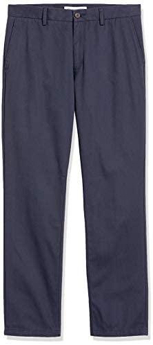31PiBT29IxL. AC  - Amazon Essentials Men's Slim-fit Wrinkle-Resistant Flat-Front Chino Pant