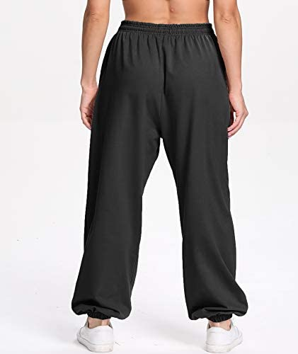31ZUWirb63L. AC  - Ausook Womens Sweatpants for Women Sweatpants Sweat Pants Joggers for Women High Waist Lounge Jogger Pants for Women Pockets