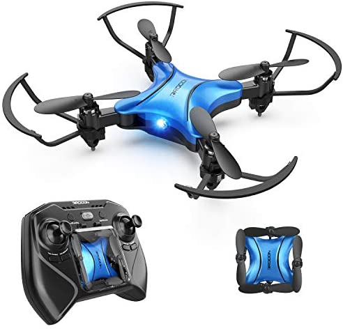 41HCNlUlnkL. AC  - DROCON Foldable Mini Drone for Kids or Adults, Best Gift Portable Pocket Quadcopter with Altitude Hold 3D Flips and Headless Mode Easy to Fly, Small Durable RC Helicopter for Beginners