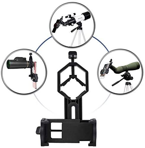 41Q78CRtfZL. AC  - Deesoo Telescopes for Adults Kids - Portable Telescope FMC Lens with Adjustable Tripod Backpack Phone Holder for Moon Viewing - 70mm Aperture 400mm Refractor Telescope for Beginners