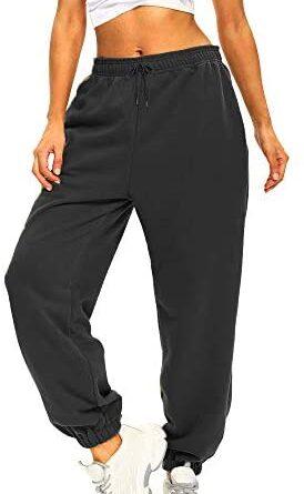 41RKHKN9pL. AC  274x445 - Ausook Womens Sweatpants for Women Sweatpants Sweat Pants Joggers for Women High Waist Lounge Jogger Pants for Women Pockets