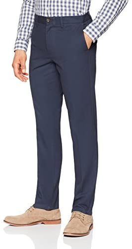 41lf+kysn4L. AC  - Amazon Essentials Men's Slim-fit Wrinkle-Resistant Flat-Front Chino Pant