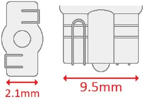 41qK6fcAqfL. AC  - CEC Industries #555 Bulbs, 6.3 V, 1.575 W, W2.1x9.5d Base, T-3.25 shape (Box of 10)