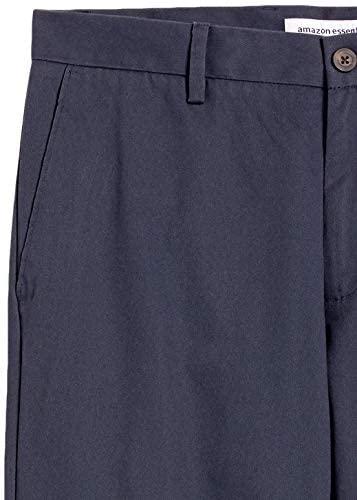41raEGmDSOL. AC  - Amazon Essentials Men's Slim-fit Wrinkle-Resistant Flat-Front Chino Pant