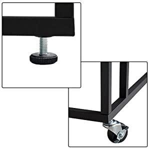 47dc18de cfa5 45b4 b953 b4f9f06ec2c0.  CR0,0,1000,1000 PT0 SX300 V1    - EKNITEY Sofa Side Table,Mobile C Shaped End Table Snack Table with Wheels and Side Pocket for Living Room,Laptop,Bedroom,Coffee,Couch and Small Spaces (Rustic Brown)