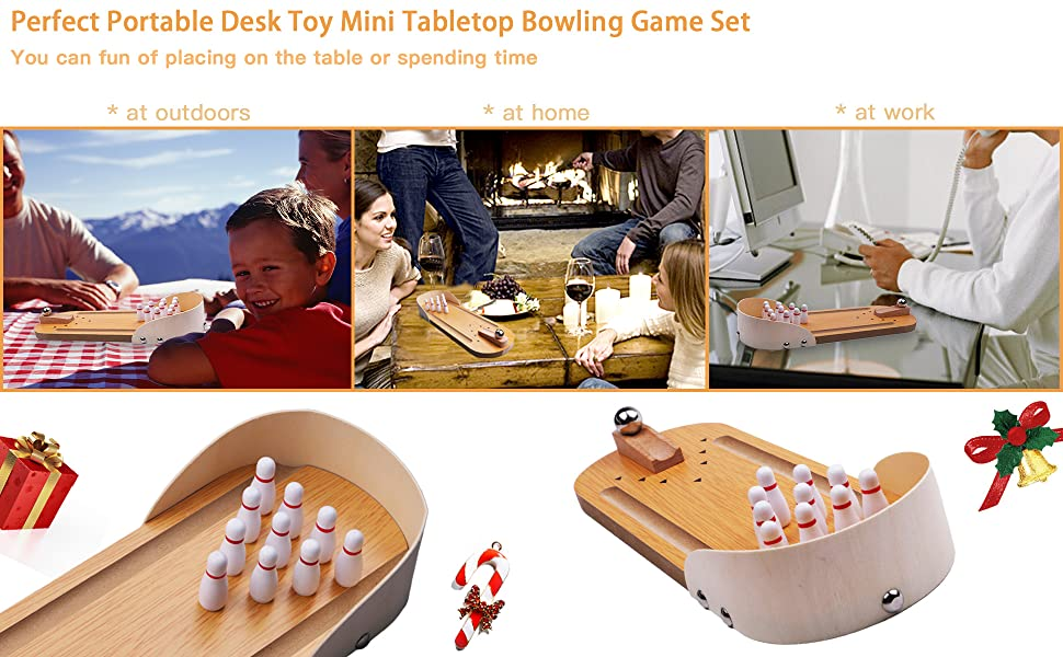 4e2166b3 a5ff 42dd 9222 c8e02897312a.  CR0,0,1940,1200 PT0 SX970 V1    - Desktop Mini Bowling Game Set - Unique Novelty Office Desk Toys - Funny White Elephant Gag Gifts - Wooden Table Top Fun Family Board Games for Kids Adults Men - Finger Sports Cute Stocking Stuffers