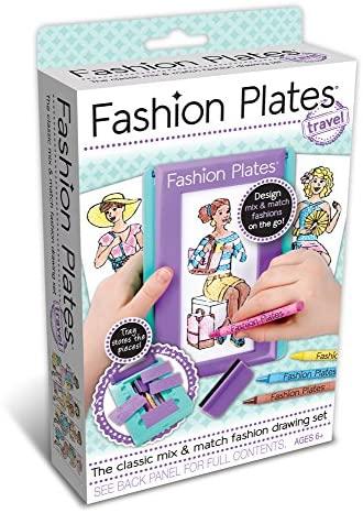 51 VI34503L. AC  - Fashion Plates Travel Kit