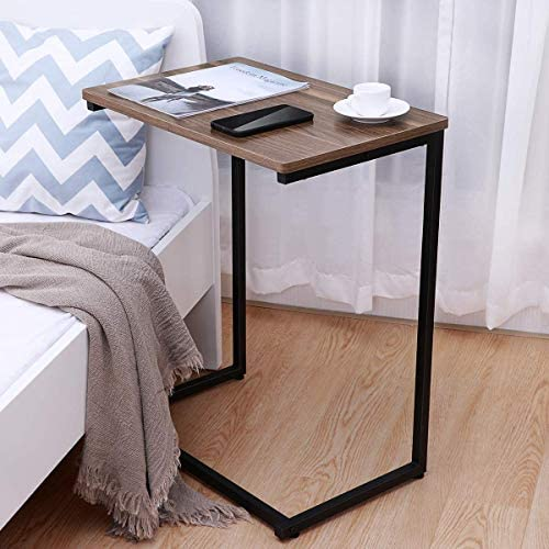 51 qLQhqxML. AC  - Homemaxs Sofa Side End Table C Table Multiple Stand 26-Inch for Small Space