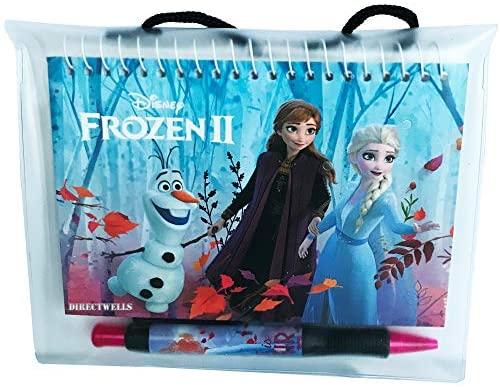 5105Z3ZSX6L. AC  - Disney Frozen Elsa Anna and Olaf Autograph Book with Retractable Pen