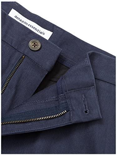 51D k+58ePL. AC  - Amazon Essentials Men's Slim-fit Wrinkle-Resistant Flat-Front Chino Pant