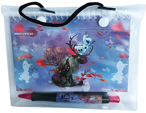 51KNeXvuk5L. AC  - Disney Frozen Elsa Anna and Olaf Autograph Book with Retractable Pen