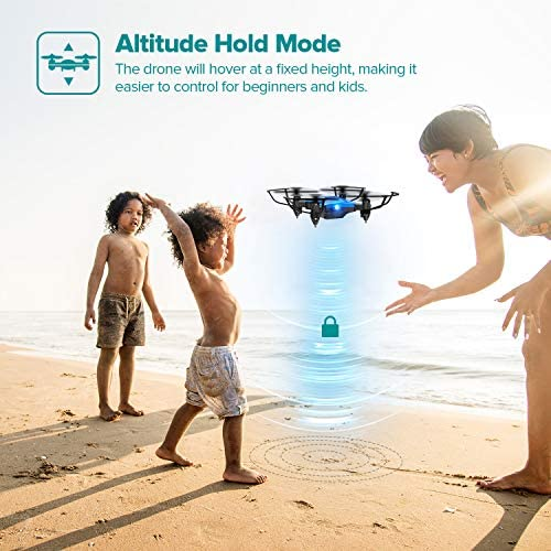 51OULnDRF1L. AC  - DROCON Foldable Mini Drone for Kids or Adults, Best Gift Portable Pocket Quadcopter with Altitude Hold 3D Flips and Headless Mode Easy to Fly, Small Durable RC Helicopter for Beginners
