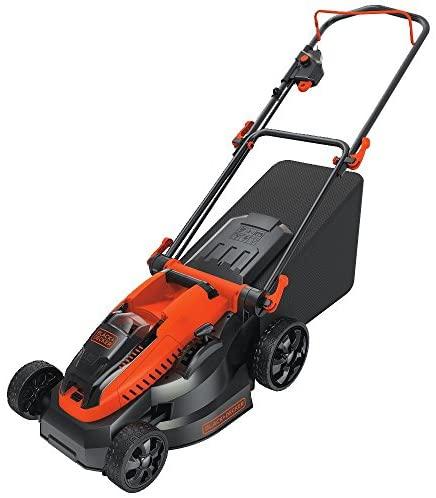 51U8ZDlcFFL. AC  - BLACK+DECKER 40V MAX Cordless Lawn Mower, 16-Inch (CM1640)